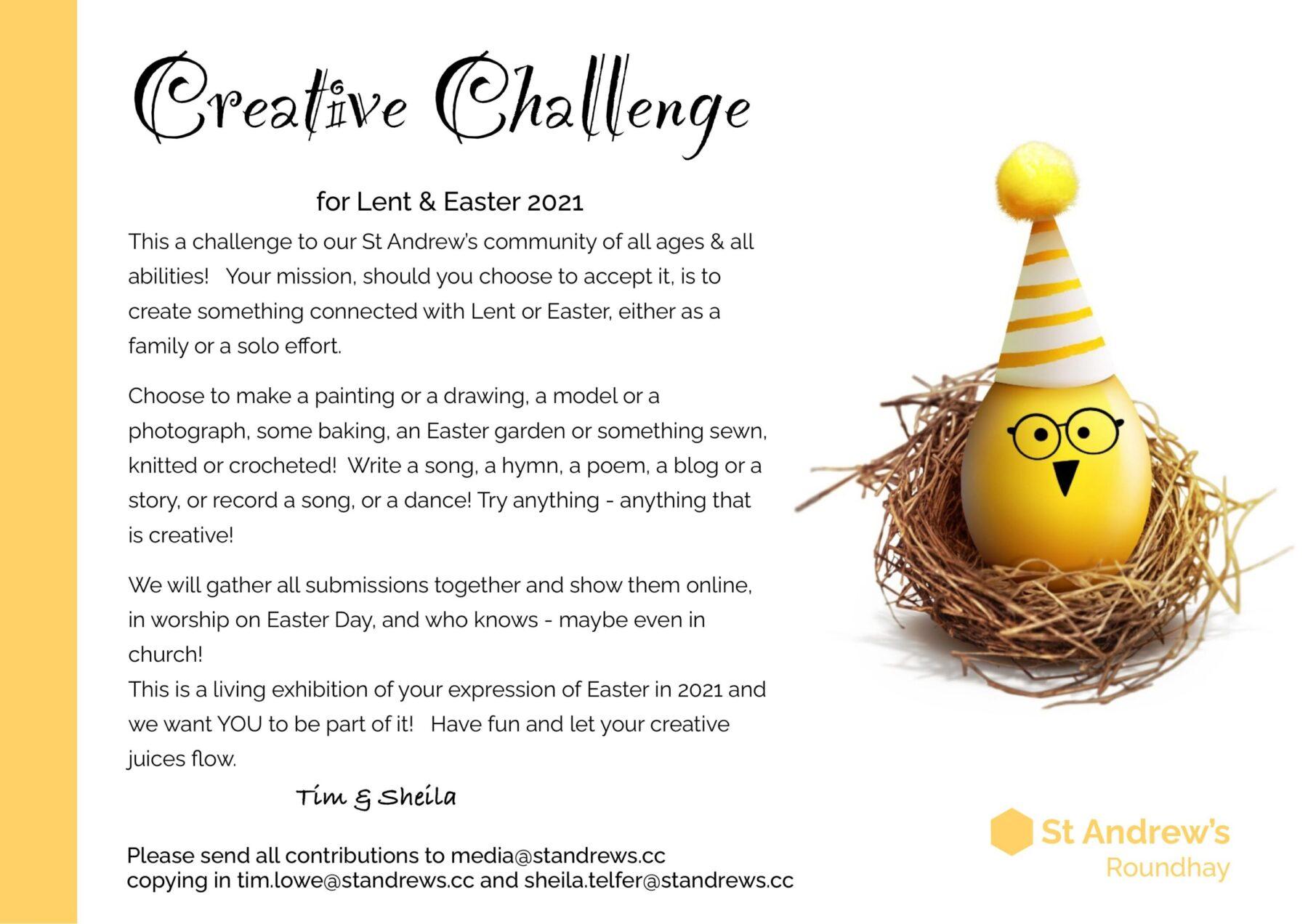 Creative Challenge 2021